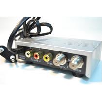 Modulador E Conversor De Rf P/ Áudio Vídeo Brasilsat.