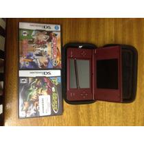 Nintendo Dsi Xl + 2 Jogos + Carregador + Mercado Pago