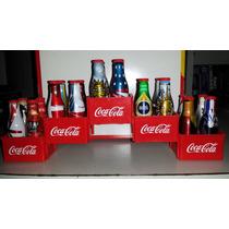 Coleção Completa Mini Garrafinhas Coca-cola