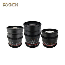 Kit De Lentes Rokinon Cine Para Canon Ef 85mm + 35mm + 24mm