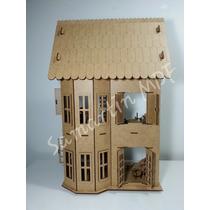 Casa Casinha De Boneca Mdf - Polly 27 Móveis - Frete Barato