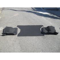 Carpete Moldado Do Porta-mala Uno 2 Ou 4 Portas Cor Preta