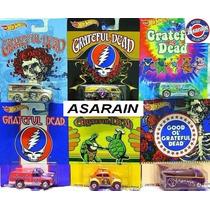 Set Greatful Dead Vw Kombi Drag Fusca Dairy Hot Wheels 1/64