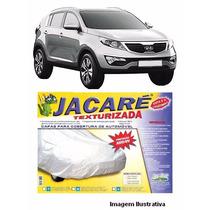 Capa Para Cobrir Carro Jacaré Forrada 100% Impermeável P