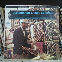 Lp Nat King Cole Recordando A Cole Español (imp. Venezuela)
