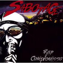 Cd Sabotage - Rap É Compromisso, Original Lacrado Pront Entr