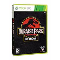 Jogo Novo Lacrado Jurassic Park The Game Para Xbox 360