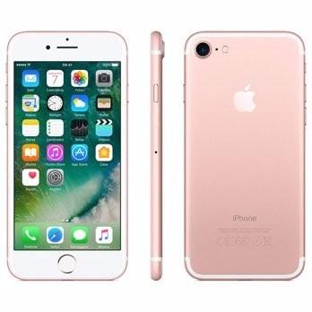 Iphone 7 32gb Tela Retina Hd De 4,7 3d Touch Rosa Ouro