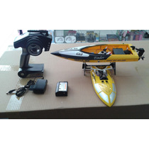 Lancha Barco Controle Remoto Tiger-shark Wl912 Speedboat