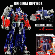 Optimus Prime Transformer Caixa Lacrada Marca Shoucang