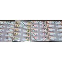 2 Cartelas 20 Adesivos Artesanais Feitos Mão Varios Modelos