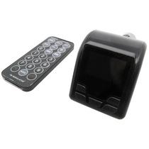 Transmissor Veicular Bluetooth Fm Pen Drive Mp3 Cartão Sd