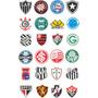 Escudo Times De Futebol - Em Chapa De Aço Corte Cnc