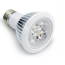 Kit Com 5 - Lâmpada Par 20 5w Bi-volt 6000k Branco Frio 120°