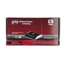 Roteador C3 Tech Wirelles W-r2010nl 150mb Antena Fixa