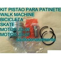 Kit Pistão P Patinete Walk Machine Motorela Bicicleta Skate