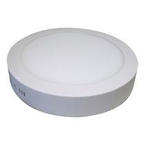 Painel Plafon Luminaria Sobrepor Teto Led Redondo Spot18 W