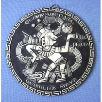Enfeite Parede Cultura Maia - Quetzalcoatl