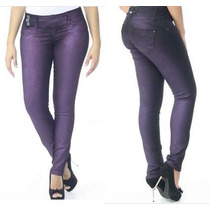 Calça Sawary Jeans Feminina Legging Modela Bumbum C/bojo