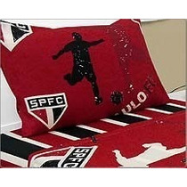 Fronha Porta Travesseiro Sao Paulo Tricolor Spfc 50 X 70 Cm
