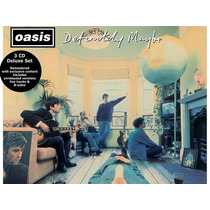 Cd - Oasis Definitely Maybe - Deluxe Edition 3 Cds (lacrado)