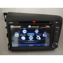 Central Multimidia Honda New Civic 2012 E 2013,gps,tv,dvd,sd