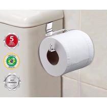 Suporte/porta Papel Higiênico Para Caixa De Descarga Agua