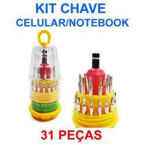 Kit Jogo Chaves Philips Precisão Relógio Celular Notebook 31