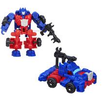 Boneco Miniatura Transformers Optimus Prime - Construct Bots