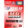 Apostila Concurso Sesi Sp Prof Educ Basica Peb 1 2 3 2015