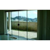 Porta Balcão De Vidro Temperado, Incolor, Med.: (1,50x2,10)
