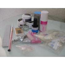 Kit Unhas De Porcelana Completo/pronta Entrega