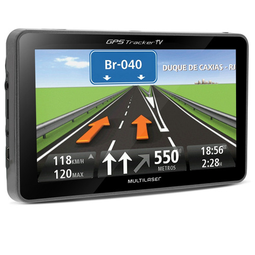 Gps Automotivo 7 C / Tv Digital + Fm Touchscreen Multilaser T