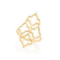 Anel F. Ouro 18k Feminino Joia Skinny Ring Rommanel 512249