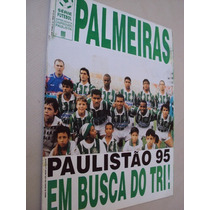 Revista Poster Palmeiras Equipe 1995