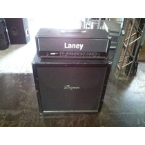 Amplificador De Guitarra Laney Com Caixa Buguera