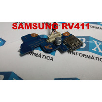 Placa Usb Power On Off Samsung Rv411