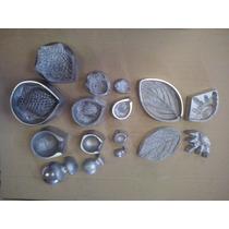 Frisadores Em Aluminio Fundido - Kit Rosas 8 Peças
