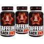Cafeína 3 Unidades - Black Jack Pura (90 Cápsulas) - Midway