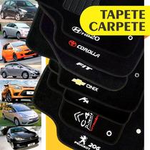 Tapete Carpete Hb20 Onix Ka Fit 206 Corolla Personalizado