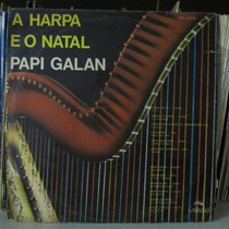 Lp Papi Galan A Harpa E O Natal 1968