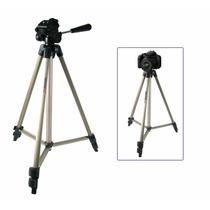 Tripe Universal 1.56 Mts Camera Filmadora Telescopio
