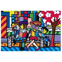 Quebra Cabeça Puzzle 6000pç Romero Brito Family Grow