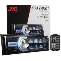 Dvd/cd/usb Player C/ Tv Digital 3 Pol. Flipdown Jvc Kd-av500