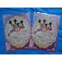 Kit De 2 Pasta Plástica Mickey E Minnie Wedding Dreams