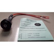 Botão Interruptor Tecla Ar Condicionado 12v Redondo