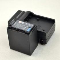 Kit Bateria Np-fv100 + Carregador P/ Sony Dcr-sx21 Dcr-sx22