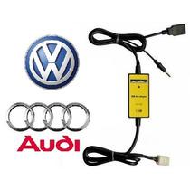 Adaptador Interface Usb Aux Vw Audi Golf Jetta Passat A3 A4