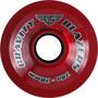 Rodas Gravity - Blazers Red 70mm/74a