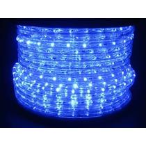 Mangueira Luminosa Led Decoração 1 Metro Azul 110v 1091
